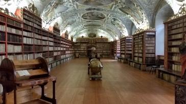 Der Theologische Saal in der Bibliothek des Klosters Strahov