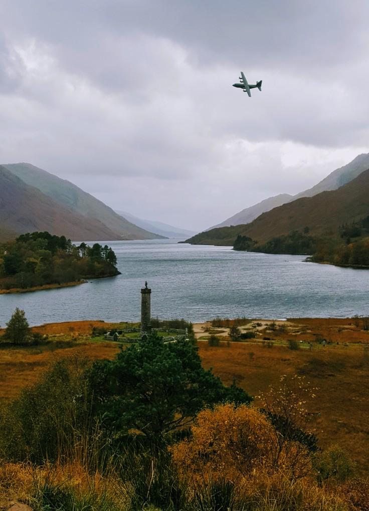 Loch Shiel in den schottischen Highlands