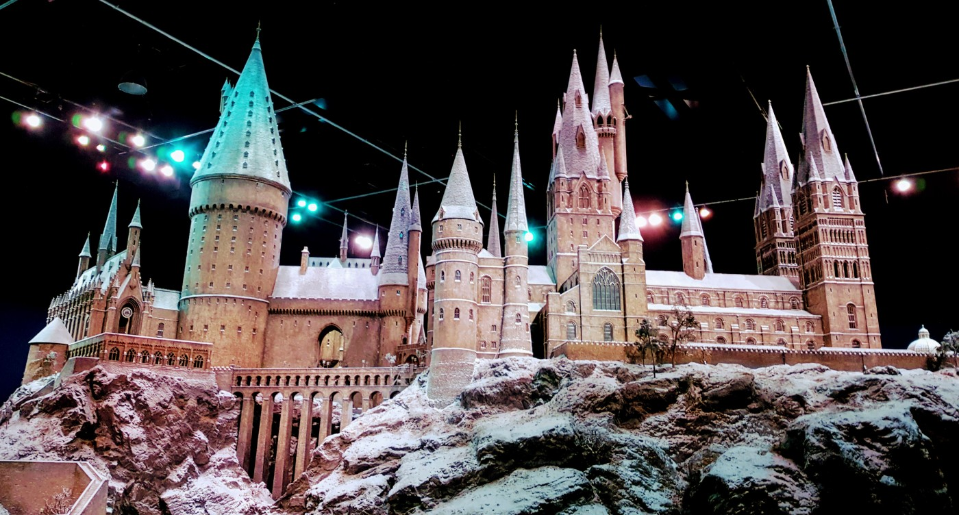 Modell von Hogwarts in der Warner Bros. Studio Tour London
