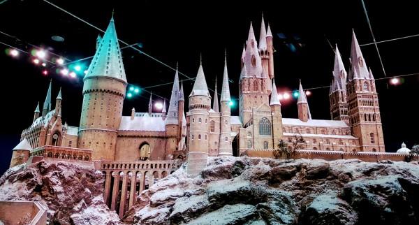 Modell von Hogwarts in der Warner Bros. Studio Tour London