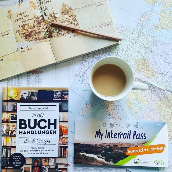 Reiseplanung mit In 60 Buchhandlungen durch Europa